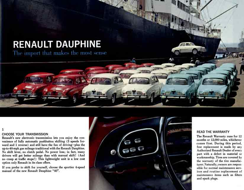 Dauphine 1964 Renault - The import that makes the most sense