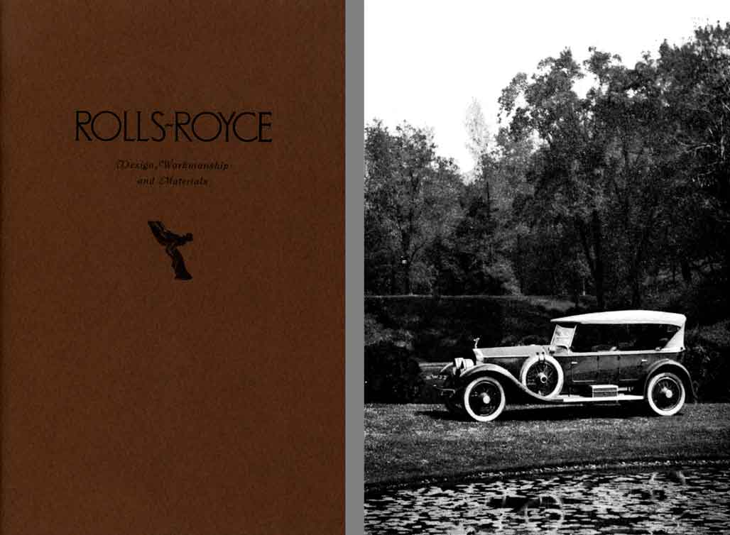 Rolls Royce 1922 - Design, Workmanship and Materials - The Story of Rolls-Royce