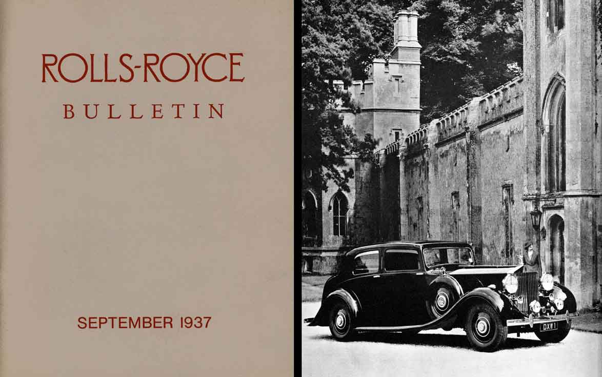 Rolls-Royce Bulletin - September 1937 Rolls-Royce Limited