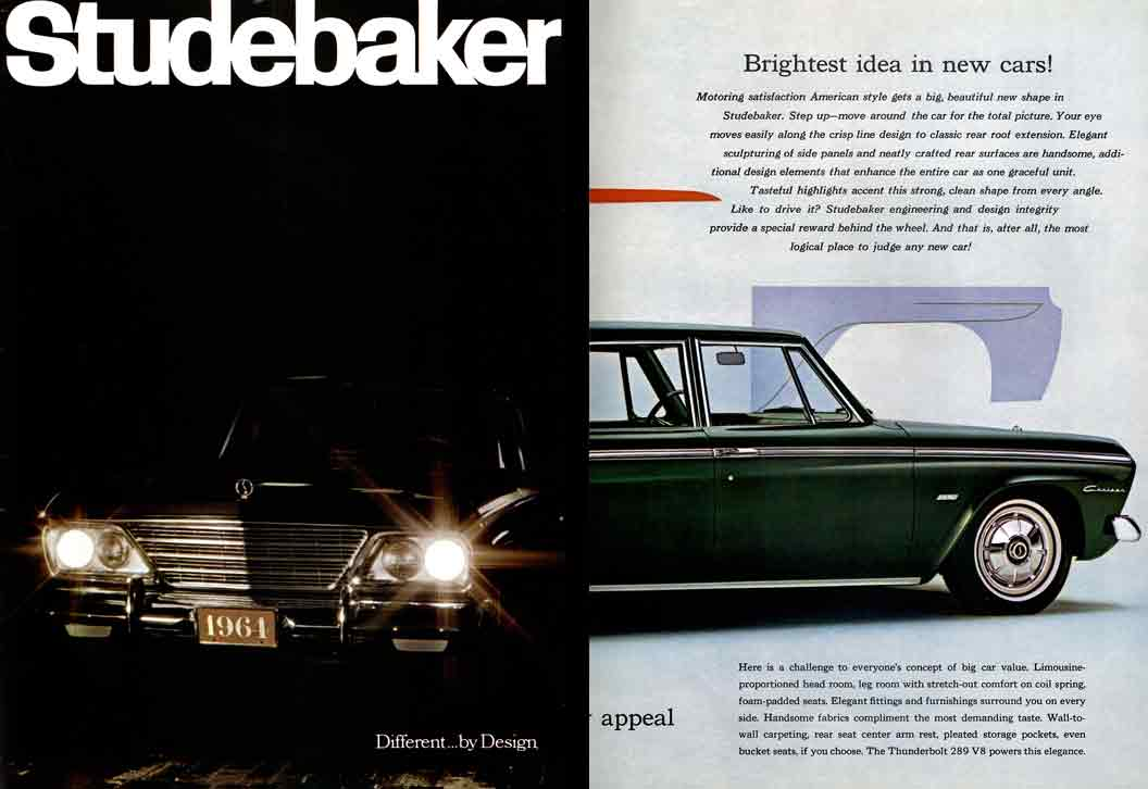 Studebaker 1964   Different By Design (23pg)